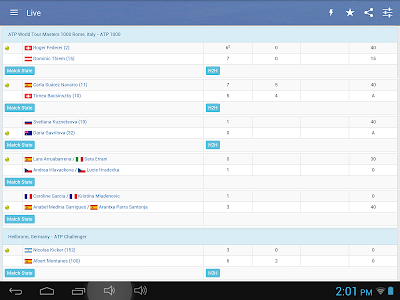 Tennis Live Score screenshot 9