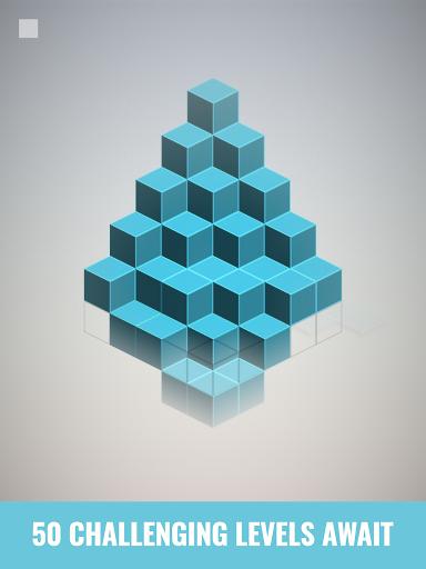 Isometric Squares - puzzle u00b2  screenshots 12