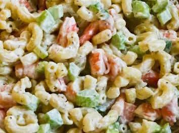 Aunt Martha's Macaroni Salad Recipe