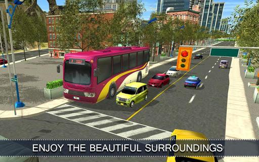 Télécharger gratuit Bus Simulator Commercial 16 APK MOD 2