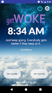 getWoke: Quote Alarm Clock - 屏幕截图缩略图