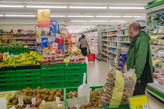 Photo: Petros in the A&O Supermarket