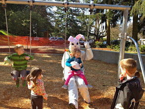 Photo: 2012 egg hunt and park playground and spray - 55