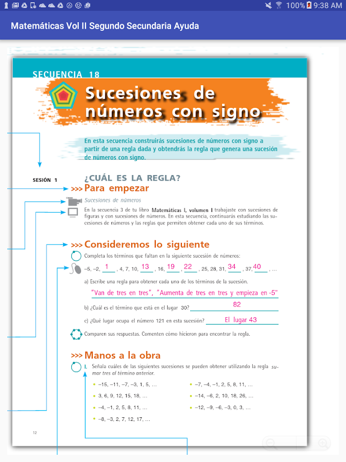 Matemáticas Vol II Segundo Sec- screenshot
