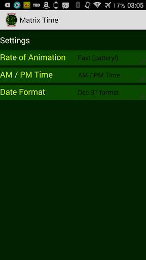 Matrix Time