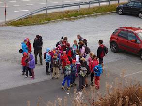 Photo: Vrcholová skupina začíná svůj výstup, zamávat a sejdeme se nahoře!