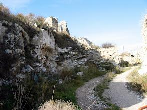 Photo: Odena, runes del castell