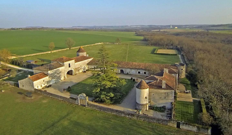 Château classé monument historique Angouleme