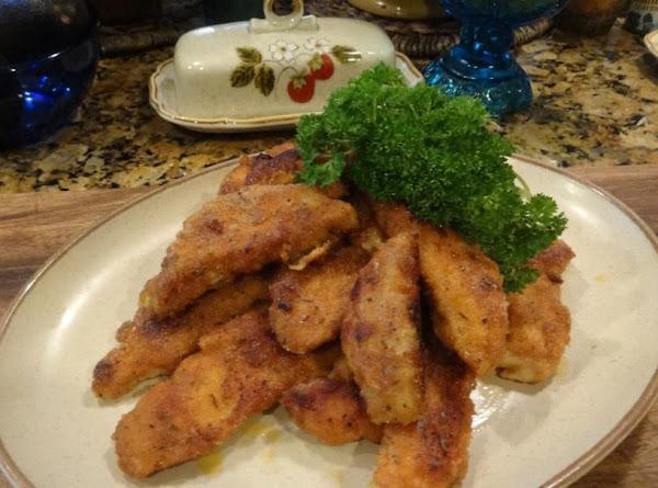 Fast Fried Chicken Tenders Recipe