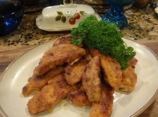 Fast Fried Chicken Tenders