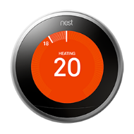 Nest thermostat farsight temperature