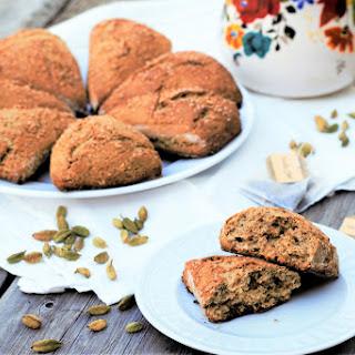 Vanilla Chai Cardamom Scones Recipe