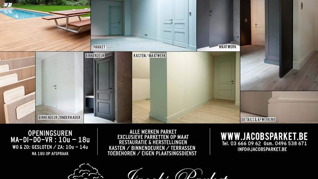 Jacobs parket interieur parket binnendeuren gevelbekleding