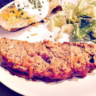 Simply Old Fashioned Turkey Meatloaf #Recipe