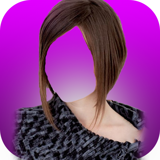 Girls HairStyles Photo Montage