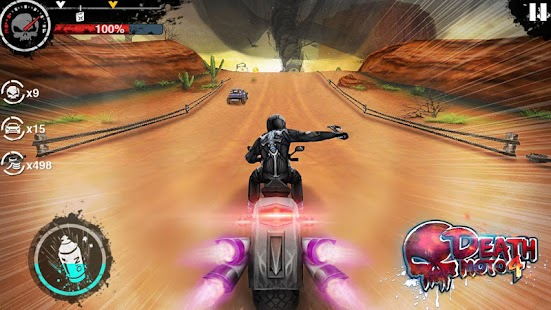 Death Moto 4 - náhled