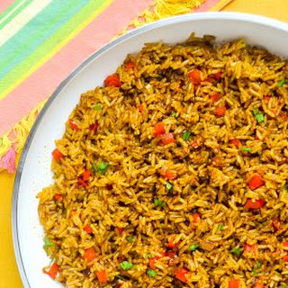 Spicy Turmeric Rice - one versatile side dish!