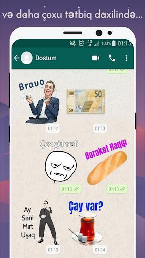 Azerbaijan Stickers for WhatsApp - WAStickerApps 12.2.06 screenshots 8