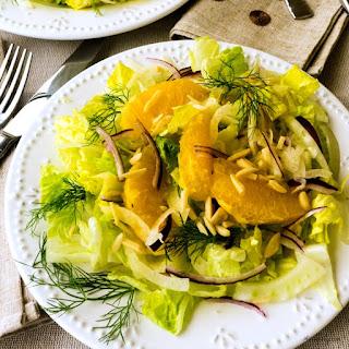 Fennel Orange Salad {Insalata di Finochio e Arancia}
