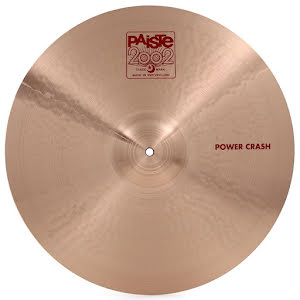 "20"" Paiste 2002 - Power Crash"
