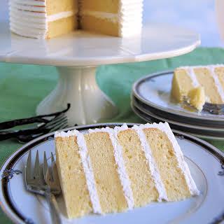 Vanilla Layer Cake.