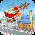 Flying Santa Gift Delivery: Christmas Rush 2020 icon