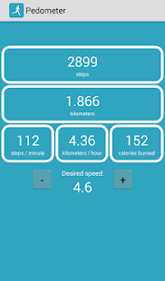 pedometer walking & running screenshot