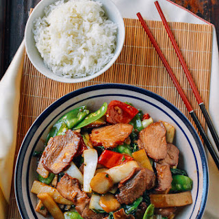 Roast Pork with Chinese Vegetables