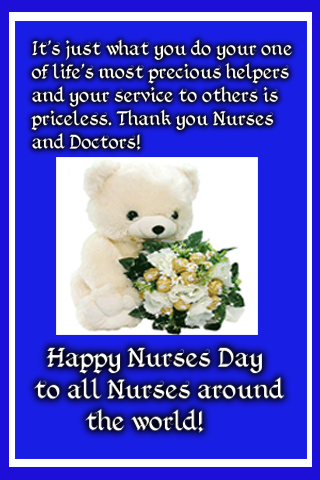 Happy nurses day wishes android apps on google play happy nurses day wishes screenshot m4hsunfo Image collections