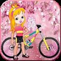 Princess Fairy Castle Bike icon
