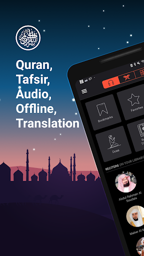 Quran Pro Muslim: MP3 Audio offline & Read Tafsir 1.7.86 screenshots 1