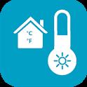 Digital Thermometer For Room Temperature icon