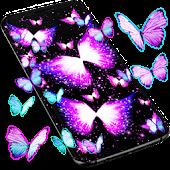 Tải Neon butterflies glowing live wallpaper APK