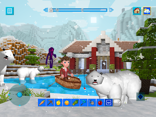Terra Craft: Build Your Dream Block World modavailable screenshots 11