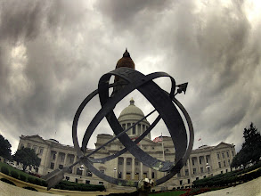 Photo: Organic Material  or Edgar Allen Poe visits the Arkansas State Capitol and this is what he saw.  Camera: GoPro Hero 2