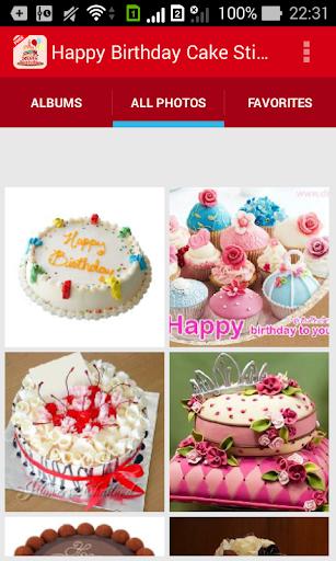 快樂生日蛋糕貼紙|玩生活App免費|玩APPs