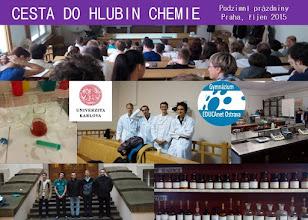 Photo: Cesta do hlubin chemie (čtvrtek 29. a pátek 30. 10. 2015, Univerzita Karlova Praha).