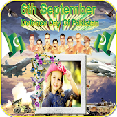 Pakistan Defense Day Photo Frames