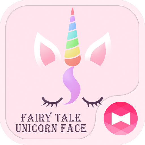 Cute Wallpaper Fairy Tale Unicorn Face Theme Icon