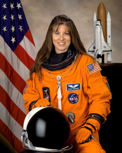 Official Portrait of Astronaut Tracy Caldwell: Official and Alternate Views