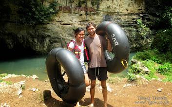 Photo: River/Cave Tubing in Goa Pindul, Java, Indonesia