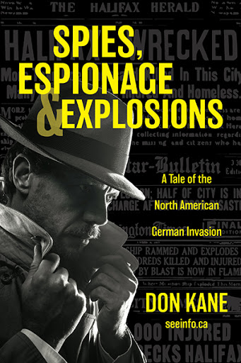 Spies, Espionage & Explosions cover