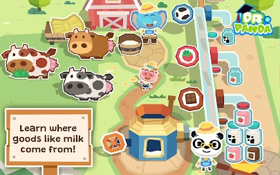 Dr. Panda Farm APK screenshot thumbnail 2