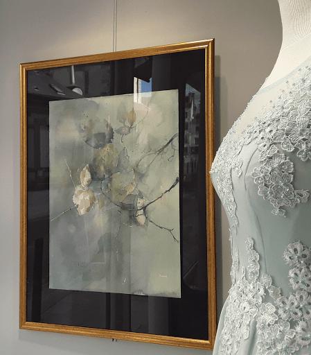 Jeanne PAPA aquarelles_jeux de dames 2019_vitrine Cario _02