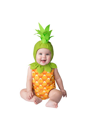 Bebisdräkt, ananas