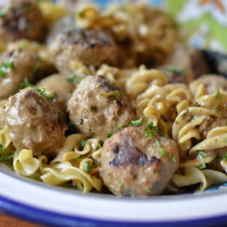 Sweet & Savory Swedish Meatballs.
