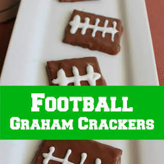 Football Graham Crackers.