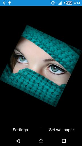 Beautiful Eye Live Wallpaper