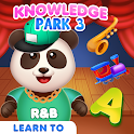 Knowledge Park 3 - racing & dancing games for kids icon