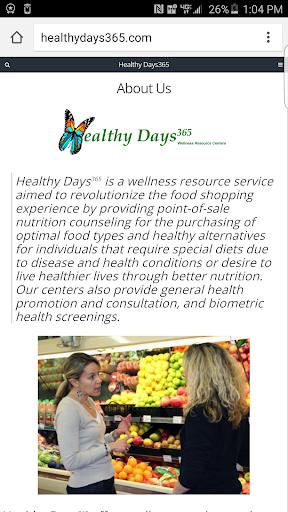 Healthy Days365